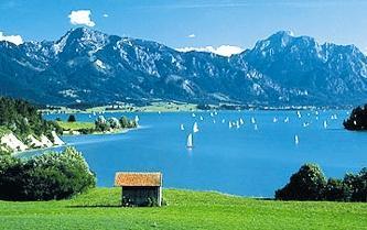 Отдых на озерах германии парусники на